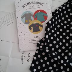 Polka Dot Coco Dress