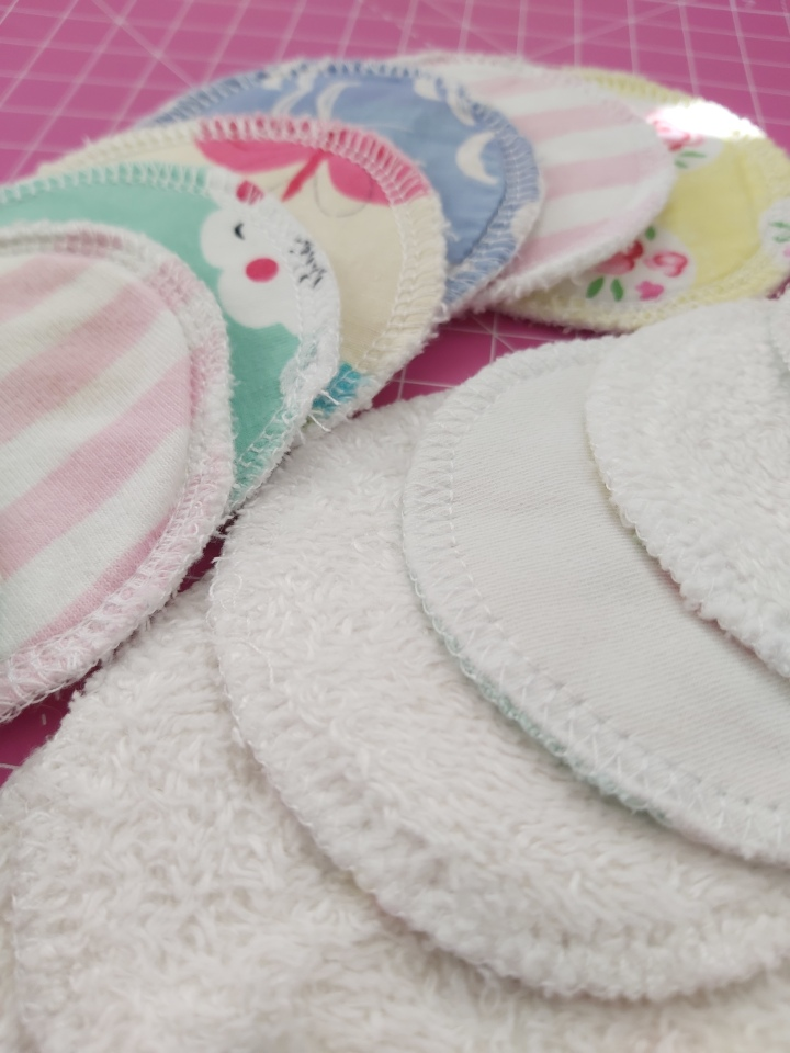 How I care for my reusable cotton pads.