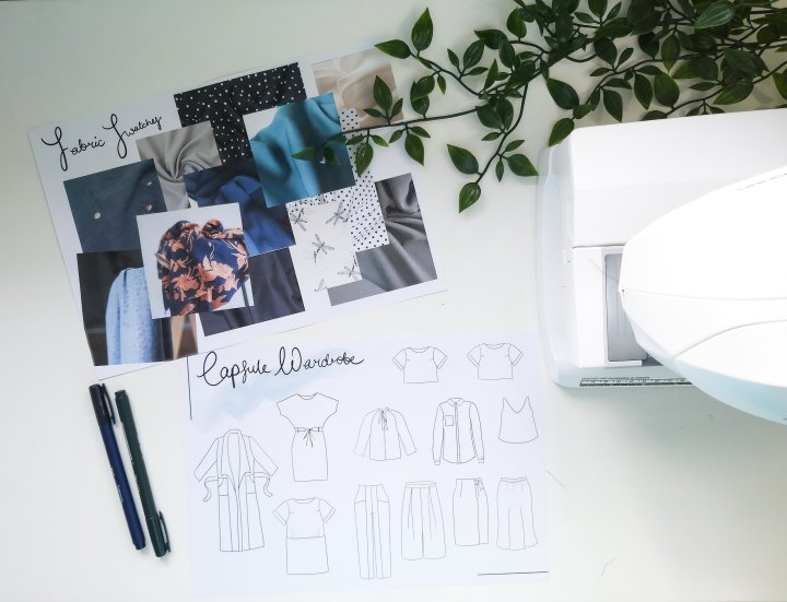 A Capsule Wardrobe:Workwear