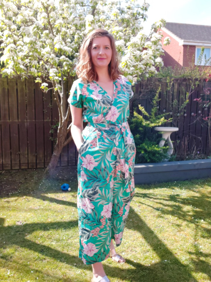 A Tropical Zadie Jumpsuit